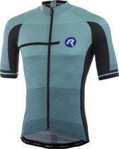 Rogelli Pendenza Fietsshirt - Heren - Korte mouwen - Maat XL - Turquoise/Zwart