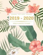 2019 - 2020 Planner Weekly And Monthly