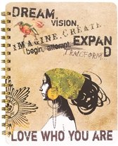 Spiral Notebook-Dream