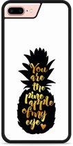 iPhone 7 Plus Hardcase hoesje Big Pineapple