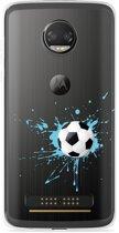 Motorola Z2 Force Hoesje Soccer Ball