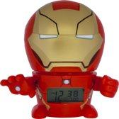 Bulbbotz Wekker Avengers: Ironman 14 Cm Rood
