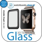 42mm full Cover 3D Tempered Glass Screen Protector For Apple watch / iWatch 1 black edge
