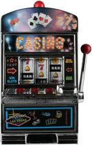 Slot Machine Spaarpot - Spaarpot voor kinderen - Fruitmachine - 37 x 16 x 23 cm