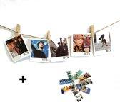 BTS Merchandise - BTS Mini Fotokaartjes 40 stuks samen met Sleutelhanger - BTS Merchandise Nederland