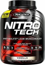 Muscletech Nitro-Tech Performance - Eiwitpoeder / Eiwitshake - 1800 gram - Milk Chocolate