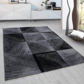 Plus - Vloerkleed - Zwart - 120 x 170 cm
