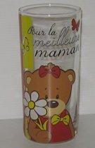 Kwikki glas Pour la meilleure maman