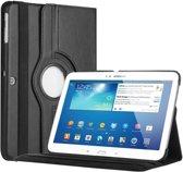 Samsung TAB 3 10.1  hoes 360 graden draaibaar met  Multi-stand -Zwart