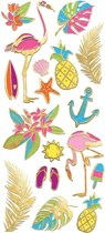 Paper House Stickers Neon Tropical
