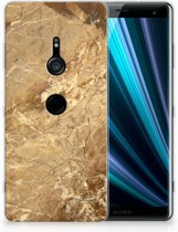 Sony Xperia XZ3 TPU Hoesje Design Marmer