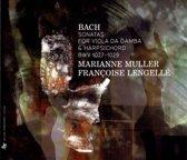 Sonatas For Viola Da Gamba And Harpsichord Bwv 102