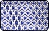 Tokyo Design Studio Nippon Blue Plate Rect 21x13.5cm Star