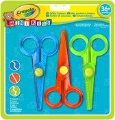 Crayola mini kids kinderscharen - 3 stuks/kleuren