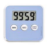 Premium Blauwe Magnetische Kookwekker Inclusief Standaard + Gratis Batterij + Magneet | Digitale Kook Wekker