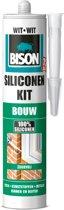 Bison Siliconenkit Bouw Koker - Wit - 310 ml