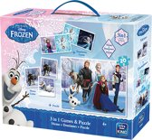 Disney 3in1 Game+Puzzle Frozen