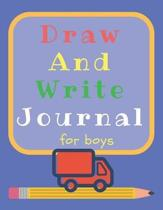 Draw and Write Journal for Boys