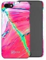 Uprosa - backcover hoes - iPhone 7 / 8 - Flamingo