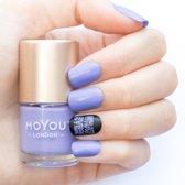 MoYou London Stempel Nagellak - Stamping Nail Polish 9ml. - Periwinkle