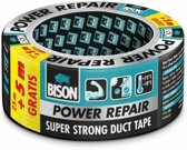 Bison Power repair tape grijs rol 25 +5