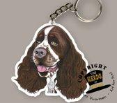 Sleutelhanger Hond Engelse Springer Spaniel