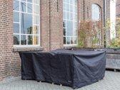 MaximaVida zwarte beschermhoes XXL loungeset - 300 cm x 250 cm x 90 cm- Zware 600 gr/m2 uitvoering