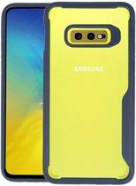Focus Transparant Hard Cases Samsung Galaxy S10e Navy
