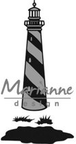 Marianne Design Craftable Mal Tinys vuurtoren CR1410 11.0x16.0cm