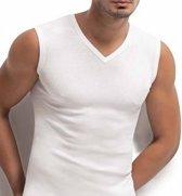 3 stuks - Bonanza V-hals A-shirt - mouwloos - wit - M/L