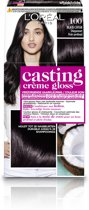 L'Oréal Paris Casting Crème Gloss Haarverf - 100 Diep Zwart