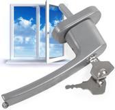 6 Vensterhandvat raambeslag raamgreep afsluitbaar 400902