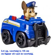 Paw Patrol Rescue Racers - Chase Politie voertuig - 10 cm