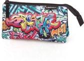 Eastwick Graffiti - Graffiti - Etui - 3 vakken - 22 cm