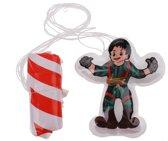 Toi-toys Parachutespringer 10 Cm Groen/rood