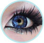 Plum - Geo Medicals Circle Lens kleurlenzen fun lenzen blauw WT-C22