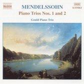Mendelssohn: Piano Trios nos 1 & 2 / Gould Piano Trio