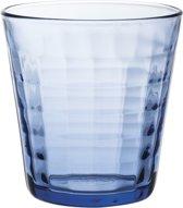 Duralex Prisme Tumblerglas - 27,5 cl - Blauw - 4 stuks
