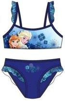Frozen bikini blauw maat 104
