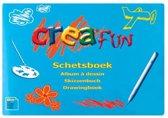 Schetsboek A4 Creafun