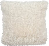 Dutch Decor Fluffy - Kussenhoes - 45x45 cm roze