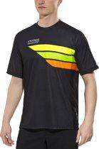 Bioracer Enduro Fietsshirt korte mouwen Heren, black-fluo yellow Maat S