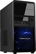 COMPUGEAR Game PC met AMD Athlon X4-845 + 8GB RAM + 1TB HDD + WiFi + GTX 1050 Ti 4GB + Windows 10 Pro