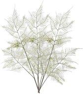 3x Kunstplanten aspergeplant takken 80 cm groen - Kunstbloem/nepbloem - Kunstplanten/nepplanten