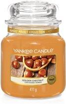 Yankee Candle Golden Chestnut - Medium jar