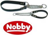 Nobby halsband slipketting, hals-vriendelijk bruin 20-35 x 1,4 cm - 1 st