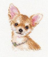 Borduurpakket Chihuahua - Alisa