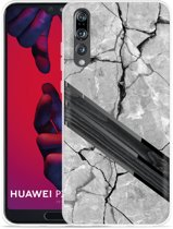 Huawei P20 Pro Hoesje Marble Wood