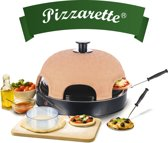 Emerio - Pizzarette Cooltouch Pizza Oven 6 Personen - 1200W PO-115984 Emerio