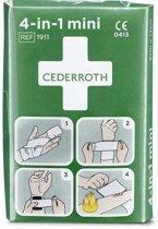 Cederoth - Mini verband - 4 in 1 - bloedstelper - per 2 verpakt